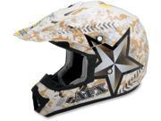 AFX Motorcycle FX-17 Dual Sport Marpat Helmet Size Small 9SIAAHB4WD9673