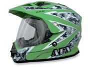 AFX FX-39 Urban Motorcycle Helmet Green Urban X-Small 9SIAAHB4ZS4435
