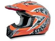 AFX Motorcycle FX-17 Urban Safety Orange Helmet Size Small 9SIA1452T18851