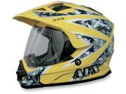 AFX FX-39 Urban Motorcycle Helmet Yellow Urban Small 9SIAAHB4WE0734