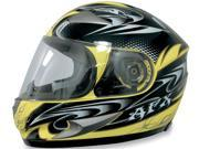 AFX Motorcycle FX-90 W-Dare Helmet Yellow Size X-Small 9SIAAHB4WD2363