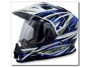 AFX Motorcycle FX-39BH Multi Helmet Blue Size XXXX-Large 9SIAAHB4WD4858