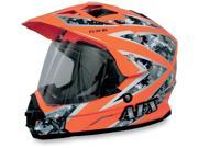 AFX FX-39 Urban Motorcycle Helmet Orange Urban Large 9SIA14534P7218