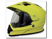 AFX FX-39 Solid Motorcycle Helmet Hi-Vis Yellow XXX-Large 9SIAAHB4WD8439