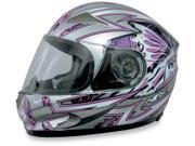 AFX FX-90 Passion Motorcycle Helmet Pink/Silver Passion X-Small 9SIAAHB4WC7862