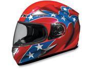 AFX FX-90 Rebel Motorcycle Helmet Orange Rebel Large 9SIAAHB4WD2026