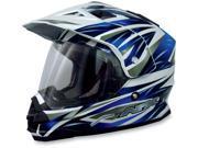 AFX FX-39 Graphics Motorcycle Helmet Blue Multi X-Large 9SIAAHB4WD7921