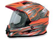 AFX FX-39 Graphics Motorcycle Helmet Safety Orange Multi XXX-Large 9SIAAHB4WD4149
