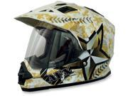AFX Motorcycle FX-39 Dual Sport Marpat Helmet Size X-Small 9SIAAHB4WD7375
