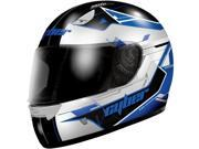 Cyber Helmets US-39 Graphics Motorcycle Helmet Blue/Black Small 9SIAAHB4WC5359