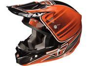 Fly Racing VISOR for Kinetic Motorcycle Helmet Trey Canard Series Orange/Black 9SIAAHB4WD0071