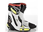 Alpinestars SMX Plus Boots Black/White/Fluorescent Yellow 7.5 9SIA1452T09445