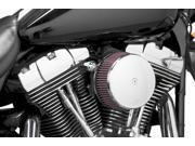 Arlen Ness Billet Sucker Stage I Air Filter Kit Billet CoverSmooth ChromeRed Filter 18808 9SIAAHB4106292