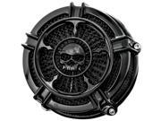 Kuryakyn Attitude Medallion Zombie Gloss Black 3714