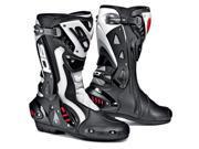 Sidi ST Black/White Racing Motorcycle Boots EUR 42 US 8-8.5