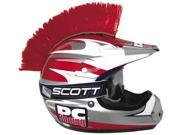 PC Racing Motorcycle Helmet Mohawk - Red 9SIA05Y69R9175
