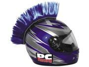 PC Racing Motorcycle Helmet Mohawk - Blue 9SIA1452T61153