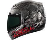Icon Airmada Thriller Motorcycle Helmet Black Medium 9SIA1453KN8966