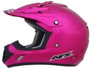 AFX FX-17 Solid Motorcycle Helmet Fuchsia Small 9SIA14534P7585