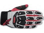 Alpinestars Atacama Air Gloves Cool Gray/Red Small