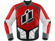 Icon Overlord 2 Motorcycle Jacket Red X-Large