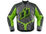 Icon Overlord 2 Motorcycle Jacket Green Medium 9SIA1453FB3715