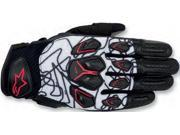 Alpinestars Masai Gloves Blue/White/Red Medium 9SIA1452W95688