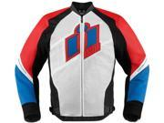 Icon Hypersport Motorcycle Jacket Glory Small