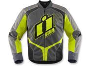 Icon Overlord 2 Motorcycle Jacket Hi-Vis Yellow Medium 9SIA1453FB3967