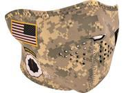 Zan Headgear Half Face Mask Army Combat Uniform OSFM 9SIAAHB4WC1591