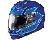 HJC Helmets Motorcycle FG 17 Banshee UNI Blue Size Large