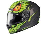 HJC Helmets Motorcycle FG-17 Mamba UNI Flat Green Size Small 9SIAAHB4WH6561