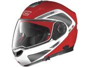 Nolan N104 Evo Tech Motorcycle Helmet Corsa Red/White Small 9SIAAHB4WE5091