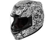 Icon Airmada Chantilly Motorcycle Helmet Chantilly White Gloss Small 9SIA1453FB5990