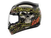 Icon Airmada Vitriol Motorcycle Helmet Black Medium