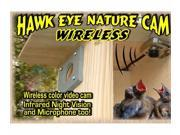 Hawk Eye Wireless Nature Cam - Video Camera for Wildlife Viewing