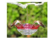 Aspects Mini HummBlossom Hummingbird Feeder, 4 oz., Rose, 433