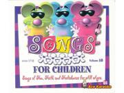 Pocket Songs CDG 1710EG Songs For Children Vol. 10