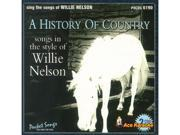 Pocket Songs Karaoke CDG #6190 - Willie Nelson - A History of Country