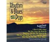 Pocket Songs Karaoke CDG 1306 Rhythm Blues and Pop