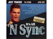 Pocket Songs Just Tracks Karaoke CDG JTG197 - IT'S ALL 'N SYNC