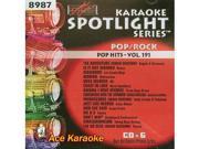 Sound Choice Spotlight CDG SCG8987 - Pop Hits - Vol. 191