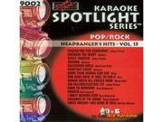 Sound Choice Spotlight CDG SCG9002 - Headbanger's Hits Vol. 15