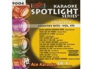 Sound Choice Spotlight CDG SCG9004 Country Hits Vol.193