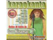 Karaokanta KAR 4423 Al Estilo de Grupo Miramar I Spanish CDG