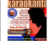 Karaokanta KAR-4364 - Al Estilo de Emmanuel - II Spanish CDG