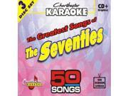 Chartbuster Karaoke CDG CB5015 The Greatest Songs of the Seventies