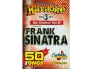 Image of Chartbuster Karaoke CDG CB5058 The Greatest Hits of Frank Sinatra
