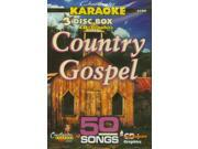Chartbuster Karaoke CDG 3 Disc Box Set 5102 - Country Gospel