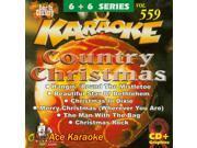 Chartbuster Karaoke 6X6 CDG CB20559 - Country Christmas